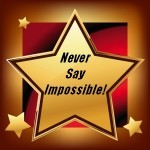 Never Say Impossible Logo